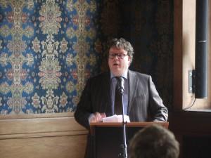 Gastheer, wethouder Mario Stam
