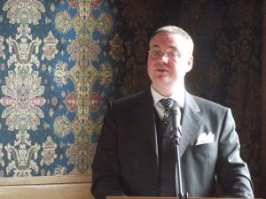 Theo van der Heijden, een van de homoambassadeurs van de gemeente Schiedam