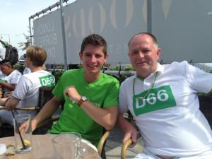 Bijpraten met Robbin van Pelt, van D66 Zuidplas.