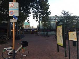 parkeerverbod fietsen station